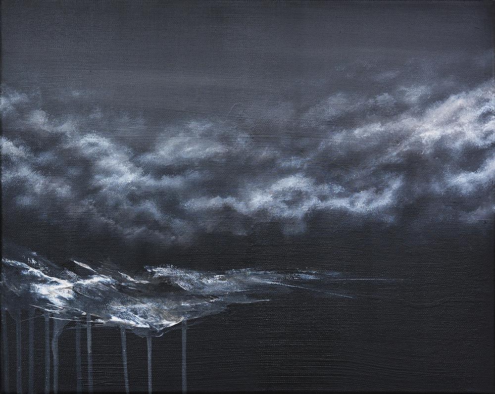 Serie Mammut Zahn der Zeit | Acrylic on canvas | 40x50cm | 2016