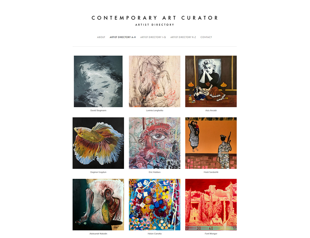 Featured on Contemporary Art Curator