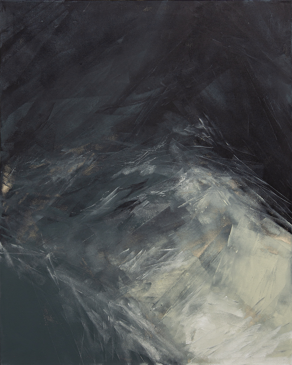 Ohne Titel | 2020 | Acrylic lacquer on canvas | 120x90cm