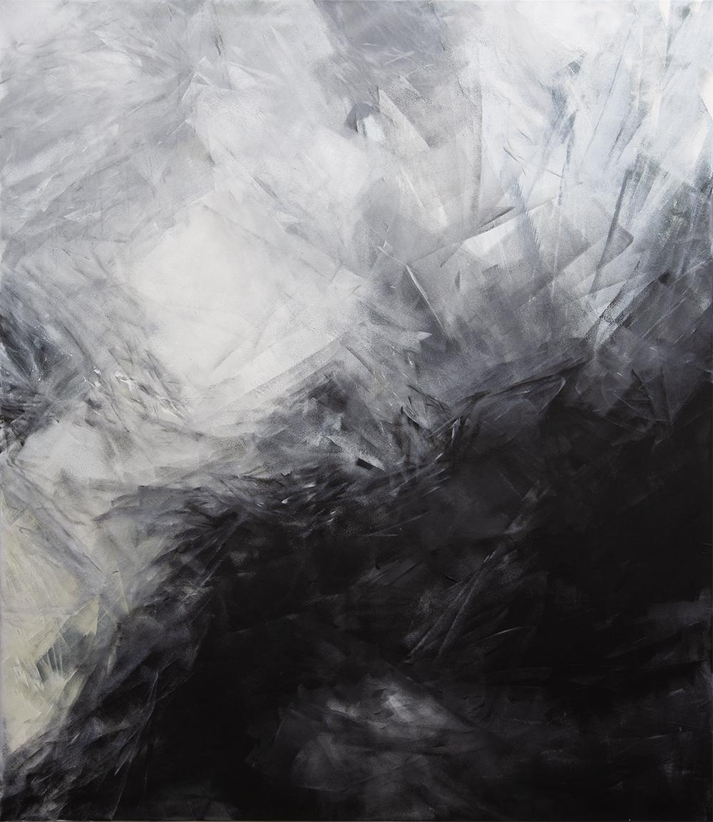Ohne Titel | 2020 | Acrylic lacquer on canvas | 150x130cm