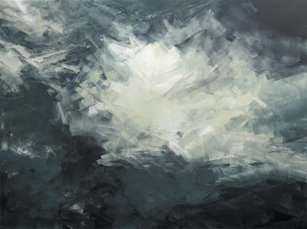 Ohne Titel | 2020 | Acrylic lacquer on canvas | 150x200cm